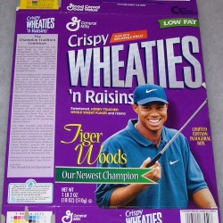 1998 Tiger Woods Newest Champion First Edition (CWR)