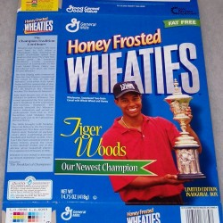 1998 Tiger Woods Newest Champion First Edition (HFW)
