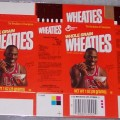 1992 Michael Jordan (mini) WHEATIES Box