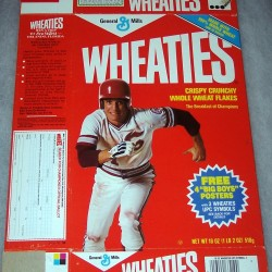 1984 Baseball Player (Poster offer on front) WHEATIES Box