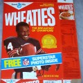 1987 Walter Payton (Banner on front Superstar Photo Inside)