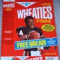 1987 Walter Payton (Free Bread Certificate on Back)