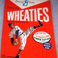 1964 Baseball Player (Animal Carnival & Flipper Baseball Game balloons on front) Wheaties box