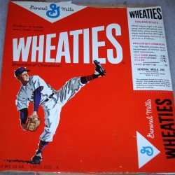 1964 Baseball Player Wheaties box