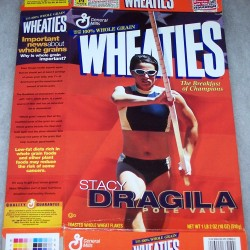 2000 Stacy Dragila Pole Vault Wheaties box