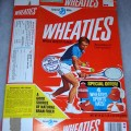 1976 Tennis Player (special offer 4 Wheaties Sports Hats on front)