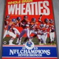 1990 Denver Broncos 1989 NFL Champions (Phantom) Wheaties box