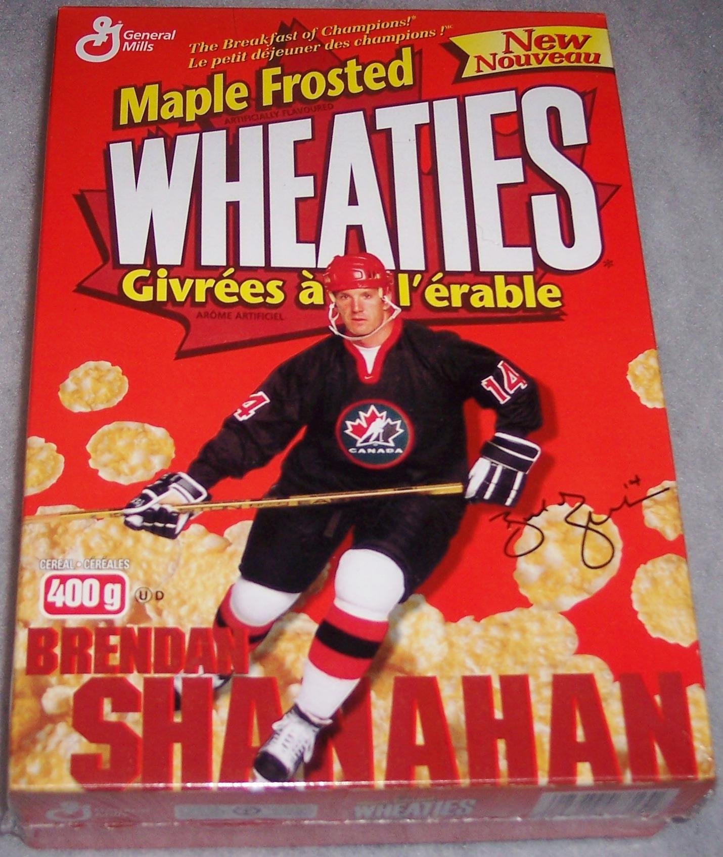 1998 Brendan Shanahan (MFW) Wheaties Box