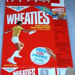 1983 Frisbee Player (Free Wham-O Frisbee Disc offer on front)