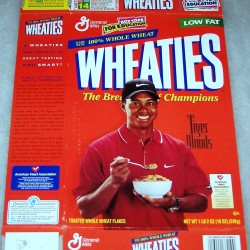 1998 Tiger Woods American Heart Association