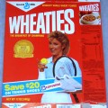 1987 Chris Evert (save $20 on tennis shoes on front)