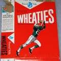 1964 Football Player Wheaties box