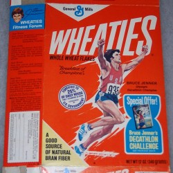1977 Bruce Jenner (hands up running) (Special Offer for Bruce Jenner's Decathlon Challenge)