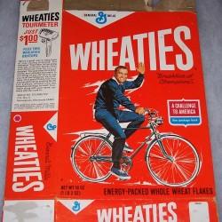 1965 Bob Richards (Riding Bike) (Banner A Challenge To America)