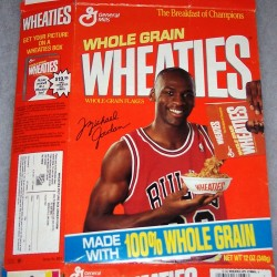 1990 Michael Jordan (Picture Box offer on side panel)